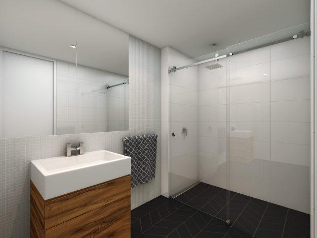 Fully Frameless Sliding Shower Screen By Jims Glass Your