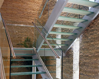 Frames Glass Systems - Stair balustrades