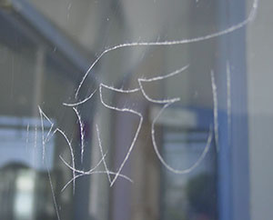 graffiti Commercial Glass Replacements