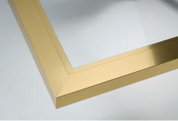 gold Framed Shower Screens