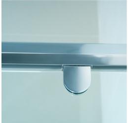 3-1 Semi Frameless Shower Screens