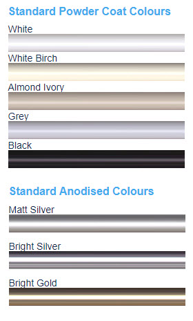 shower-screen-frame-colours Shower Screens