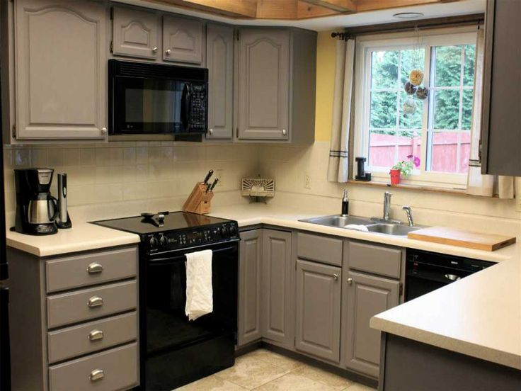 repainted-kitchen-cupboards How to Update your Kitchen on a Budget