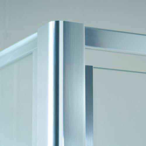 Optima_corner_1 Semi Framed Shower