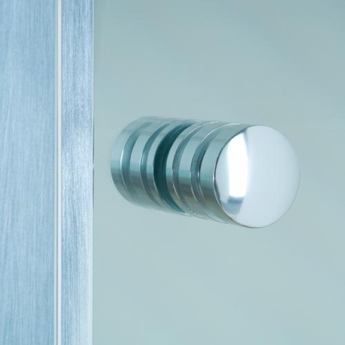 Optima_handle Semi Framed Shower